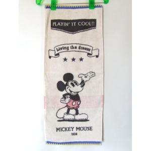 ディズニー・ミッキーマウス可愛いフェイスタオル綿100%  【メール便無料】|yumenoren