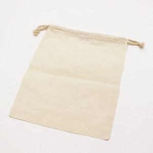 【2点セット】シンプルなコットン巾着バッグ◇旅行の荷物整理に!【メール便無料】 yumenoren 02
