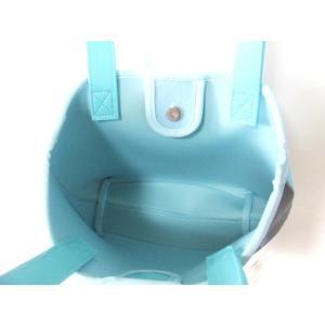 ディズニープリンセス・シンデレラプリントミニトートバッグ/ウェットスーツ素材 yumenoren 05
