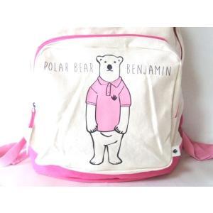 POLAR BEAR BENJAMINリュックサック/ピンク|yumenoren