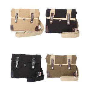 【sale】メンズ&レディース帆布工房斜め掛けカジュアル革付属2WAYミニショルダーバッグ(4色有)|yumenoren