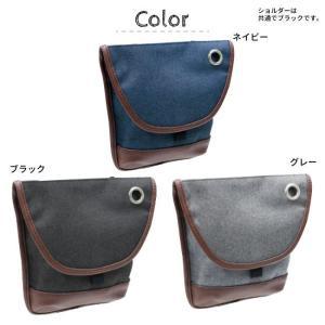 メンズ軽量カラビナ付属2WAYシザーバッグ(3色有)【メール便無料】 yumenoren 02