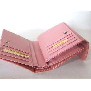 縁起の良い親子ふくろうイラスト二つ折り財布セパレートタイプ(4色有) yumenoren 08