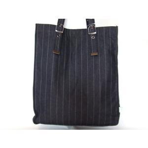 持ち手長さ調節可能ピンストライプトートバッグ(3色有)|yumenoren