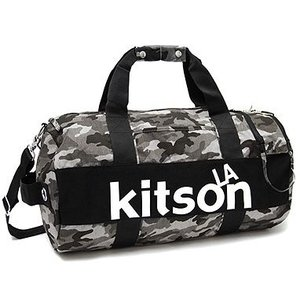 【特売】キットソン(kitson)ドラム型2WAYボストンバッグ(迷彩) yumenoren
