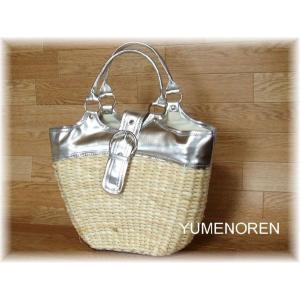 天然素材かごバッグ|yumenoren