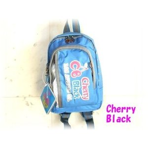 【sale】CHERRY BLACK女の子向けおしゃれなミニリュックサック(3色有)|yumenoren