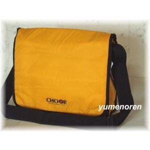 CHOOP/クッション素材入りメッセンジャーバッグ(2色有)|yumenoren