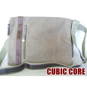 【sale】CUBIC COREライン帆布メッセンジャーバッグ(3色有)|yumenoren
