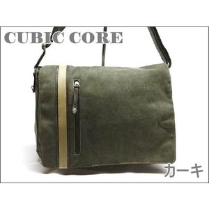 【sale】CUBIC COREライン帆布メッセンジャーバッグ(3色有)|yumenoren|05