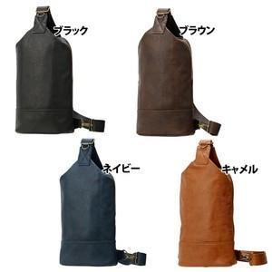 シンプルデザインフェイクレザーボディバッグ(4色有)|yumenoren