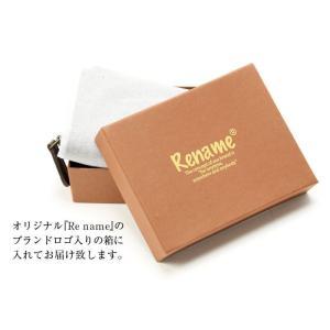 Rename飾りステッチ合皮二つ折り財布◇箱付き|yumenoren|06