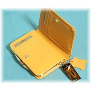 レディース向けコンパクトで使いやすい化粧箱入りふくろう本革がま口二つ折り財布(2色有) yumenoren 02