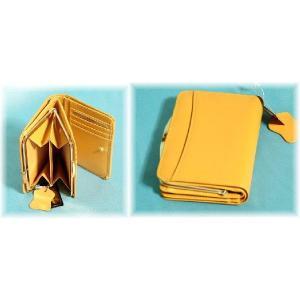 レディース向けコンパクトで使いやすい化粧箱入りふくろう本革がま口二つ折り財布(2色有) yumenoren 03