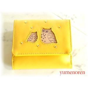本革ふくろう福財布<ボックス>(3色有)|yumenoren