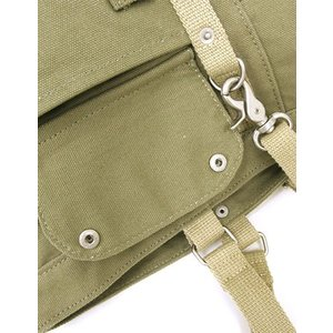 【sale】メンズ大小7つのポケットが付いた機能的な大きめ帆布トートバッグ(3色有)|yumenoren|04