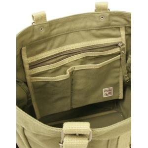 【sale】メンズ大小7つのポケットが付いた機能的な大きめ帆布トートバッグ(3色有)|yumenoren|05