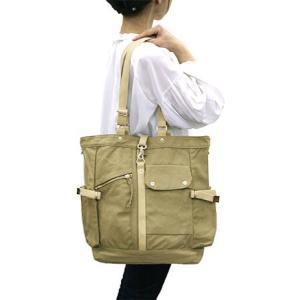 【sale】メンズ大小7つのポケットが付いた機能的な大きめ帆布トートバッグ(3色有)|yumenoren|06