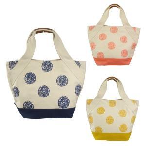 【sale】おしゃれな手描きドットレディース帆布キャンバストートバッグ(3色有)|yumenoren