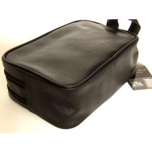 便利な2ルーム合皮セカンドバッグ(2色有)|yumenoren|03