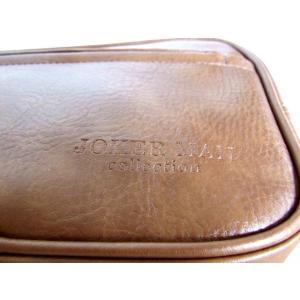 便利な2ルーム合皮セカンドバッグ(2色有)|yumenoren|04
