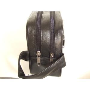 便利な2ルーム合皮セカンドバッグ(2色有)|yumenoren|05