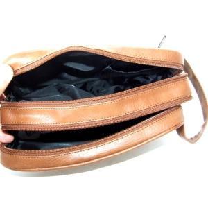 便利な2ルーム合皮セカンドバッグ(2色有)|yumenoren|06