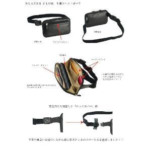 ブレザークラブ【BLAZER CLUB】牛革ウエストポーチ【取寄商品】|yumenoren|04