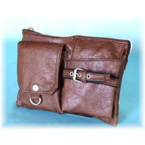 【sale】ウエスト&ミニショルダーバッグとして使えるシボ感のあるオシャレな2WAYバッグ(3色有)|yumenoren