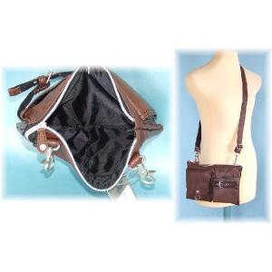 【sale】ウエスト&ミニショルダーバッグとして使えるシボ感のあるオシャレな2WAYバッグ(3色有)|yumenoren|03