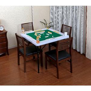 マージャン台 雀卓 高さが調節できる麻雀テーブ...の詳細画像1