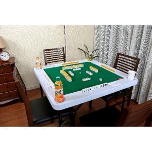 マージャン台 雀卓 高さが調節できる麻雀テーブ...の詳細画像3