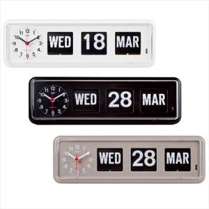 TWEMCO(トゥエンコ) 置き・掛け兼用 パタパタカレンダー時計 BQ-38 (APIs) yumeoffice