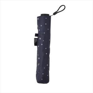晴雨兼用 折り畳み傘 スターカーボン軽量ミニ  ネイビー No.1318 (APIs)