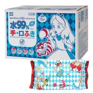 アリス 純水99% 手・くちふき 60枚入×20個 (1200枚) 日本製 パラベンフリ...