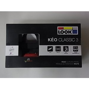 LOOK KEO CLASSIC 3 ペダル ブラック/レッドの画像