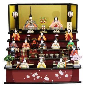 雛人形 木目込み 十五人揃 五段飾り芙蓉雛 1315 3mk1 真多呂