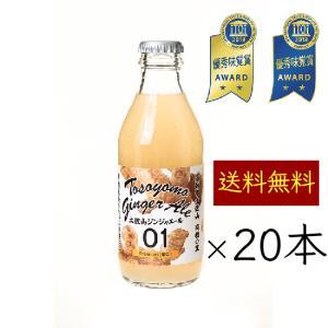 *送料無料 土佐山ジンジャーエール 辛口 20本 [ 01 Premium mini 200ml ]