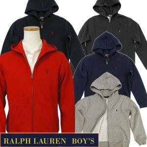ラルフローレン パーカー スウェット POLO by Ralph Lauren Boy's定番 ベーシック フルジップパーカー メンズ レディース 323547626、323507659|yumesse