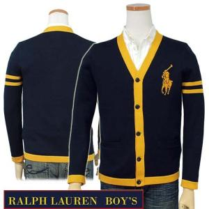 ラルフローレン カーディガン ビッグポニー メンズ レディース 兼用 POLO Ralph Lauren Boy's|yumesse