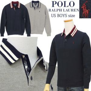 ポロ ラルフローレン ニット セーター ポロシャツ メンズ レディース 2020 新作 秋冬 ブランド 鹿の子襟付き 長袖 ボーイズサイズ #323799426|yumesse