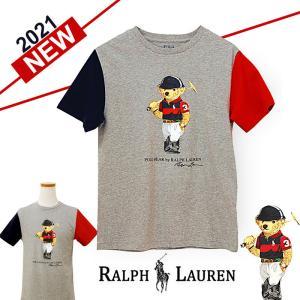 ポロラルフローレン ポロベア Tシャツ 半袖 メンズ レディース 2021年 春 新作  綿100% 熊 クマ ブランド おしゃれ POLO Ralph Lauren #323836726 yumesse