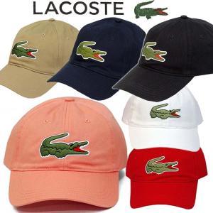 ラコステ キャップ 帽子 メンズ ゴルフ テニス ベースボール 綿 サイズ調節 フリーサイズ LACOSTE Men's ブランド プレゼント #rk4711|yumesse