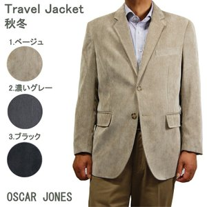 トラベルジャケット コールテン 秋冬用 旅行出張に最適 2BJK 6920|yumesse