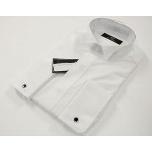 ワイシャツ フォーマル【grace selection】グレース セレクション ウィングカラーシャツ 綿100% 長袖シャツ YRD100|yumesse