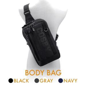 ボディバッグ body bag ショルダーバッグ メンズ レディース 40代 50代 軽量 大きめ 斜め掛け シンプルデザイン ブラック/グレー/ネイビー cosby ボディバッグ|yumesse