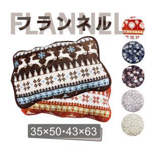 枕パッド 枕カバー 35×50 43×63 フランネル生地 暖かい おしゃれ 花柄 北欧 雪の結晶 ピローケース|yumesse