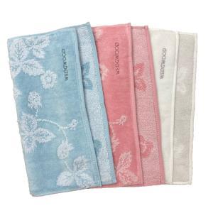無撚糸シャーリング ハンカチ ウェッジウッド 今治 綿100% 日本製 タオル ハンドタオル ミニタオル ブランド 花柄 WEDGWOOD|yumesse