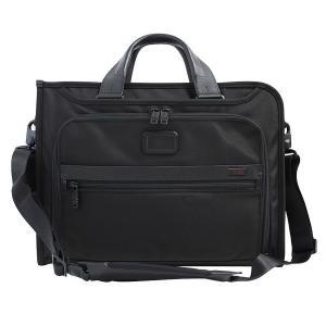 トゥミ TUMI ビジネスバッグ ブリーフケース B4サイズ メンズ ショルダーストラップ付 スリム デラックス ポートフォリオ 通勤 出張 026110D2|yumesse
