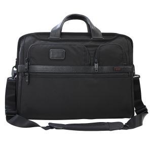 トゥミ TUMI ビジネスバッグ ブリーフケース B4サイズ メンズ ショルダーストラップ付 PCバッグ コンパクト ラージ スクリーン 通勤 出張 026114D2|yumesse